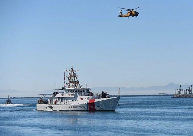 美國海岸警衛隊在太平洋扣押一艘載有5噸毒品的船隻