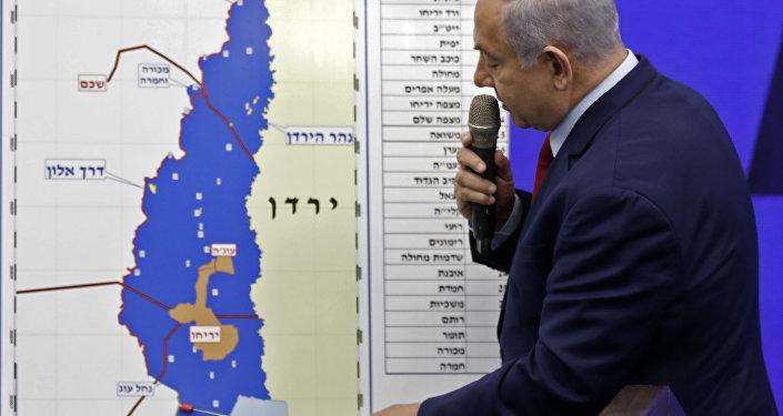 专家:以色列总理就约旦河谷讲话恐引发反以武装斗争