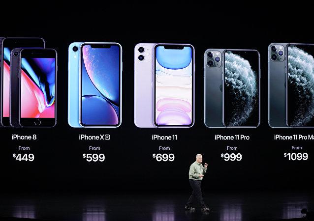 苹果公司发布新一代智能手机