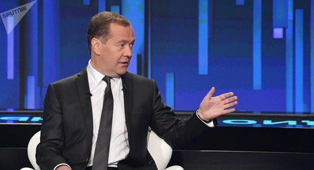 俄總理:俄羅斯不會請求西方國家取消制裁但有意討論該問題