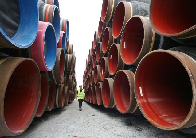 中俄东线天然气管道首站供电工程投入运行