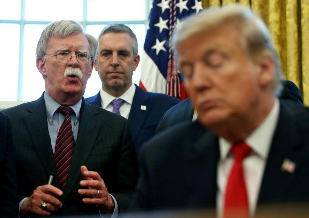 美國前國家安全顧問博爾頓指責白宮阻止自己訪問個人推特