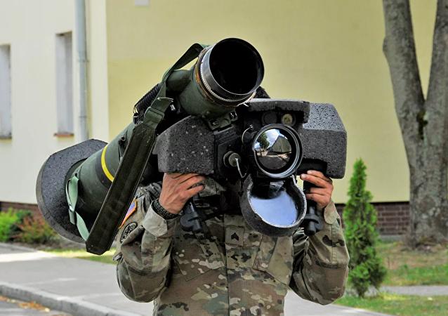 """乌克兰国防部今年计划购买美国""""标枪""""反坦克系统"""