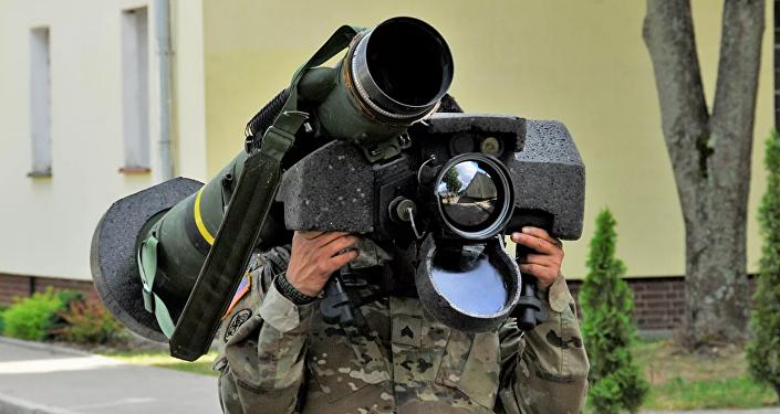 """美国""""标枪""""反坦克系统"""