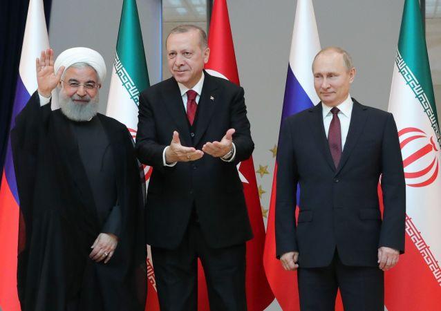 普京:俄土伊三国叙利亚问题安卡拉峰会富有成果