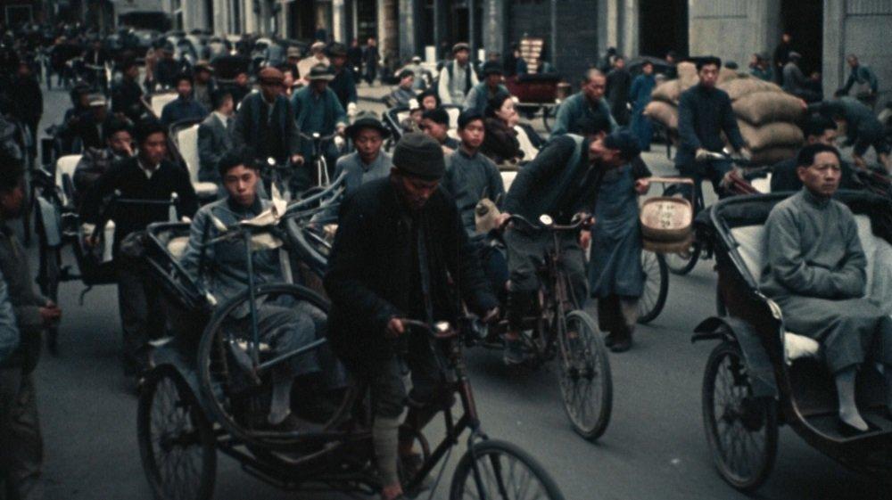 影片《中國的重生》中的鏡頭