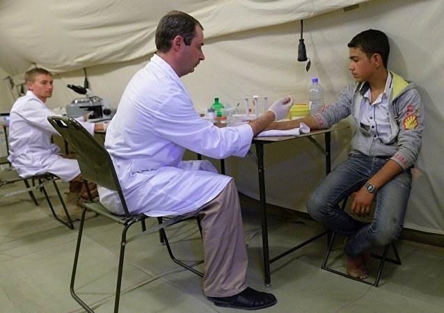 俄国防部长谈俄军医在叙利亚的工作