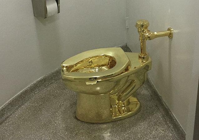 丘吉尔庄园被盗的金马桶估价600万美元