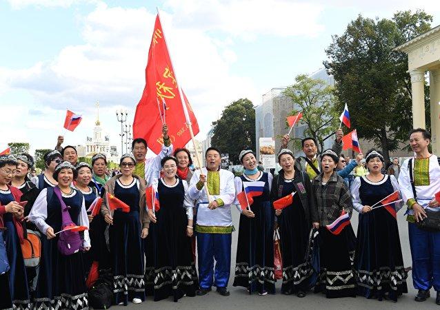 首届中国节在莫斯科开幕