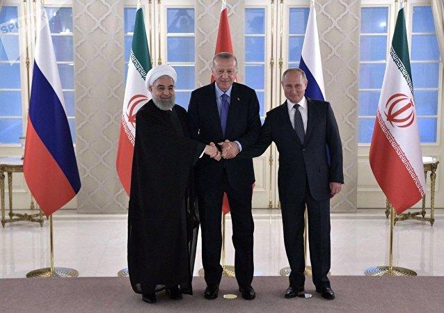 俄土伊三国的努力有助于稳定叙利亚局势