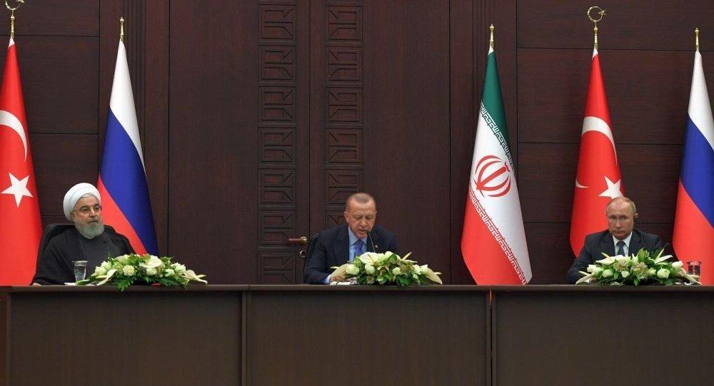 俄土伊元首称以色列军队攻击叙利亚之举破坏稳定