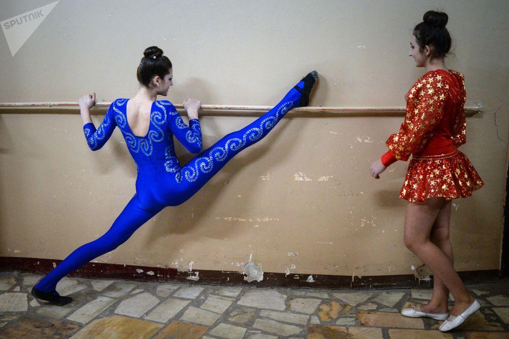 新西伯利亞的「競技場」馬戲藝術節