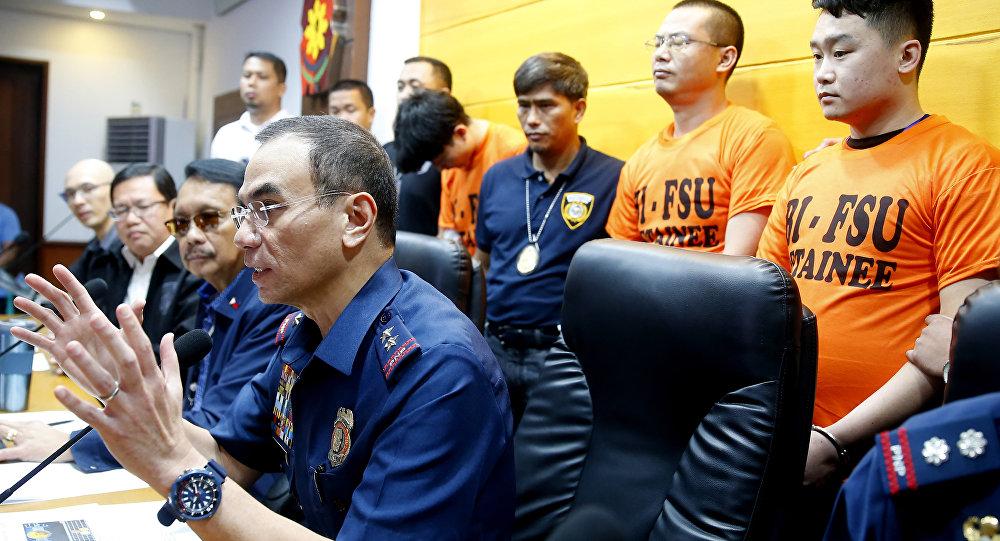 菲律賓羈押中國籍非法移民(資料圖片)