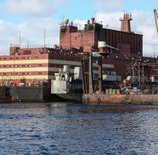 罗蒙诺索夫院士号浮动核电站