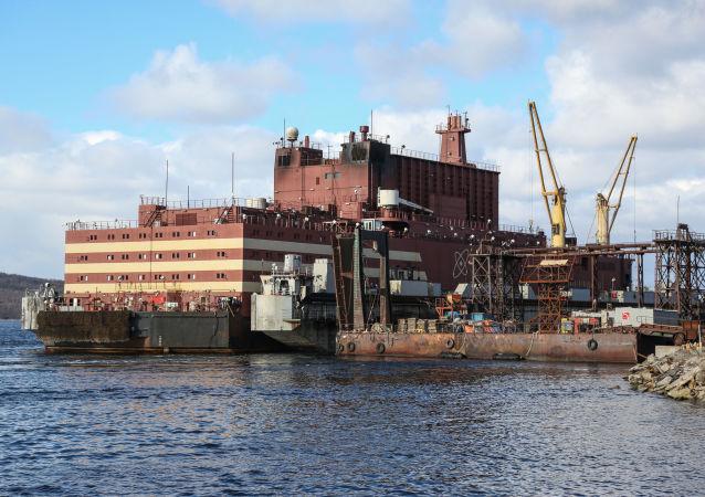 羅蒙諾索夫院士號浮動核電站