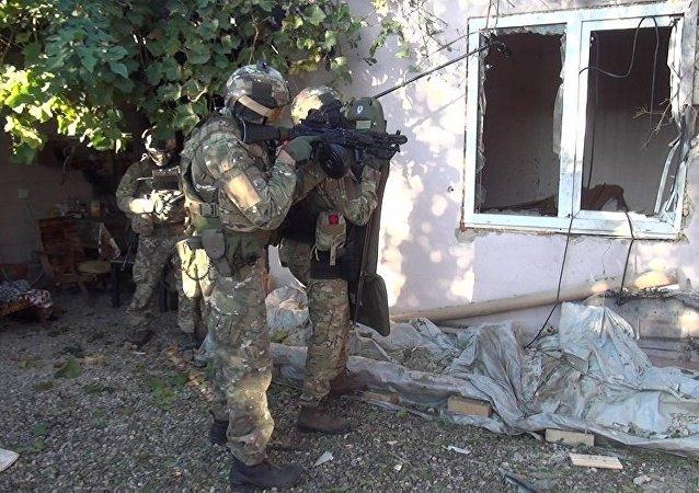 """俄国家反恐中心:达吉斯坦拘留一名试图进行恐怖袭击的""""伊斯兰国""""支持者"""