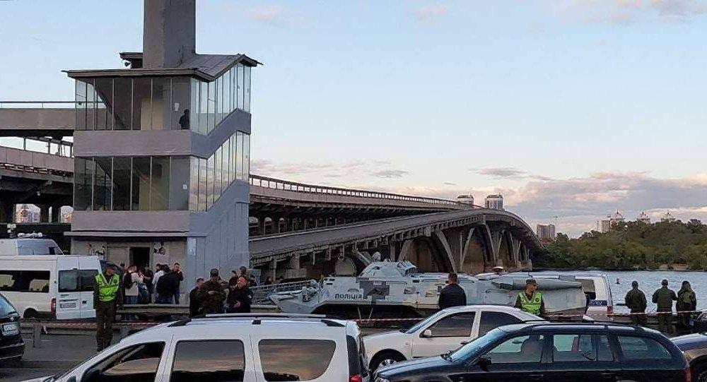 乌克兰强力部门逮捕威胁要炸桥的男子