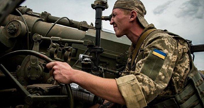 烏克蘭軍人(資料圖片)