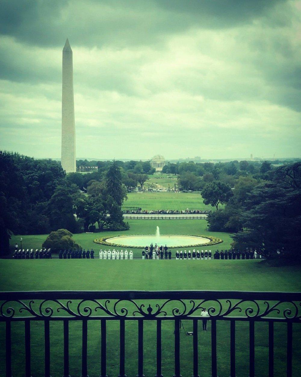 白宫南草坪