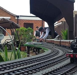 后院专属铁路