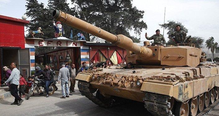土國防部:該國有意與美國在敘利亞安全區常設軍事基地