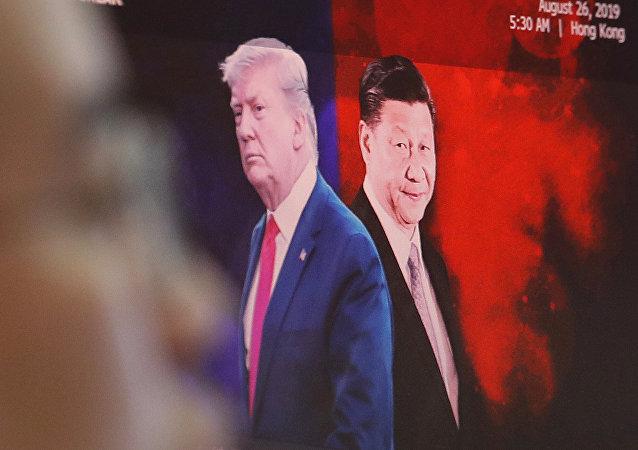 美中两国争夺贸易盟国