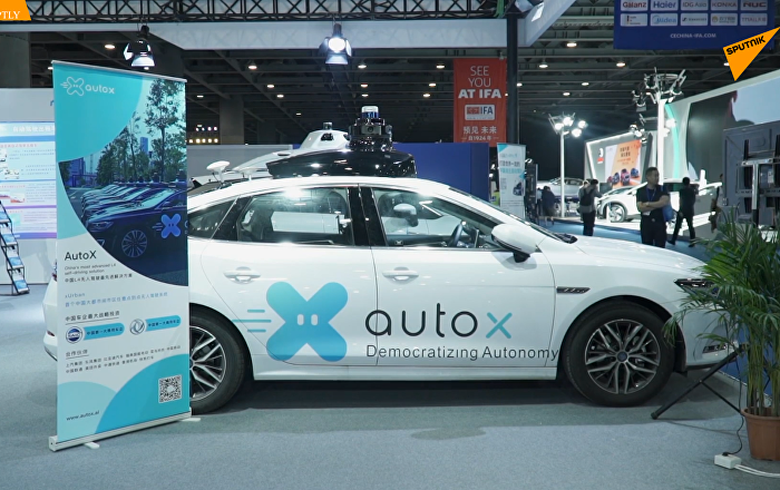 中國科技公司Auto-X 展示新型自動駕駛汽車