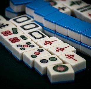 美國人學會了打麻將?
