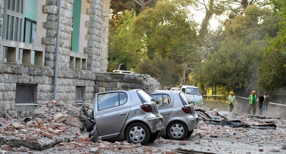 阿爾巴尼亞一系列地震造成的受傷人數上升到68人