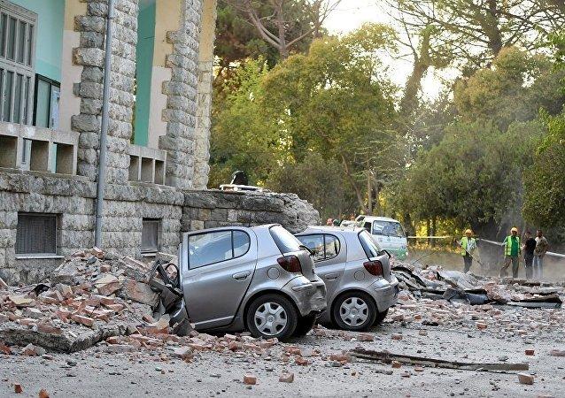 Последствия землетрясения в Албании, 21 сентября 2019