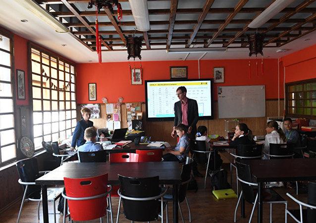 中文班通常有7-10名學生(資料圖片)