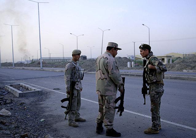 阿富汗安全人员