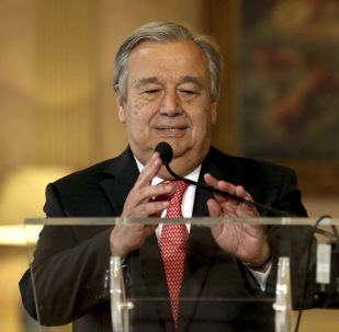联合国秘书长担忧美中之间会出现分裂