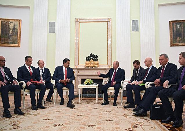 俄罗斯支持委内瑞拉合法政府并欢迎与反对派对话