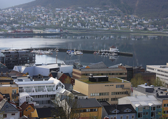挪威港口城市特羅姆瑟