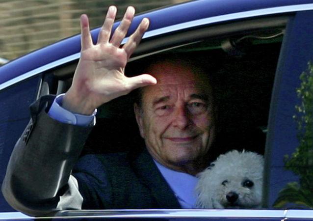 克宮:普京就法國前總統希拉克逝世向其遺孀致慰問電
