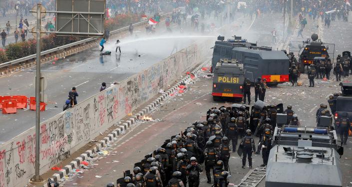 雅加達抗議活動