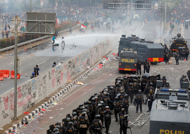 雅加达抗议活动