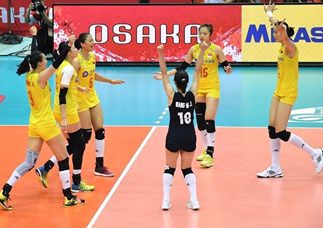 中国女排提前卫冕世界杯