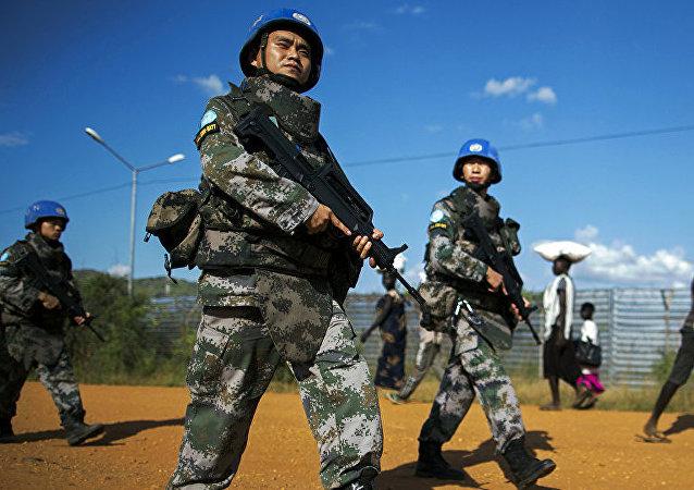 中國維和人員