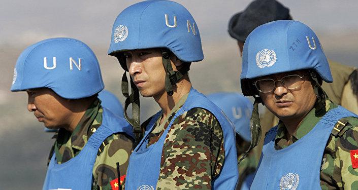中国维和部队队员