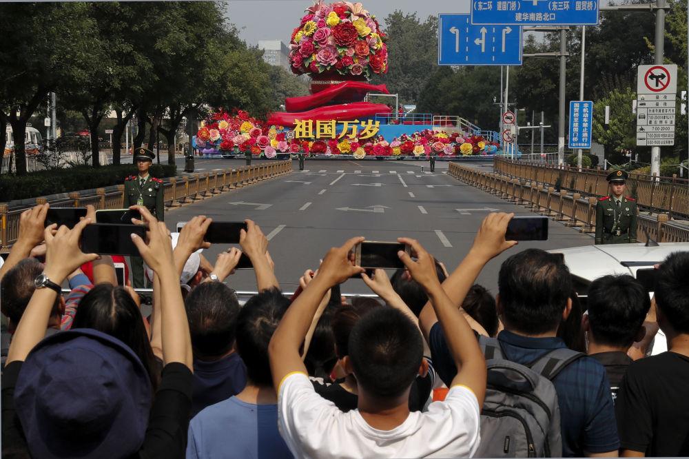 中国70周年国庆阅兵