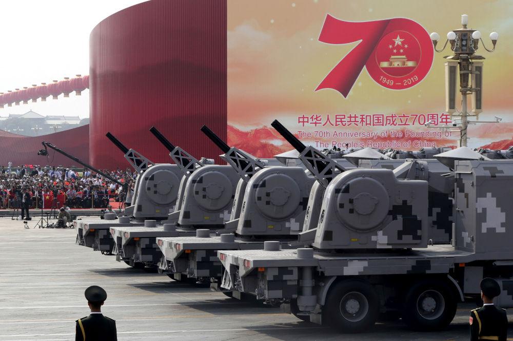 亮相中国70周年国庆阅兵的军事装备