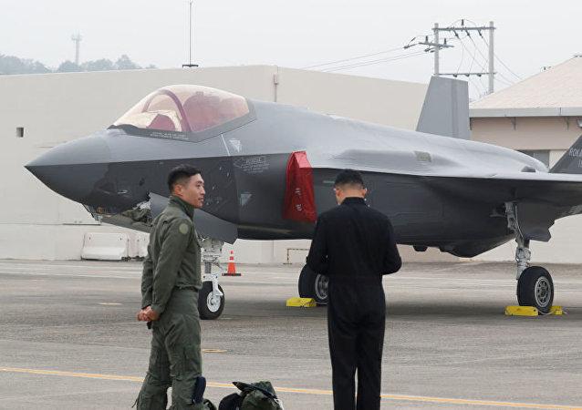 韓國舉行國軍日慶祝活動 首次展示F-35A戰機