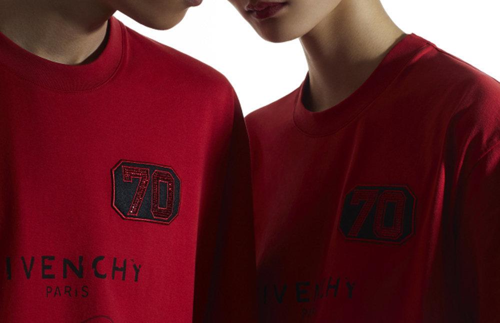 紀梵希為新中國成立70週年出售限量版T恤
