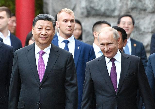 俄中兩國是不可替代的戰略合作夥伴