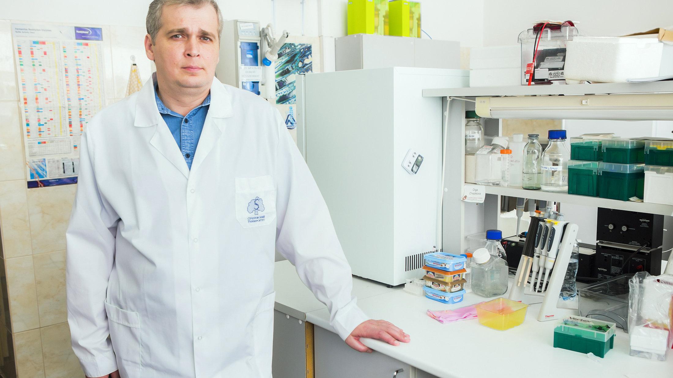 莫斯科国立谢切诺夫第一医科大学分子医学研究所主任安德烈·扎米亚特宁