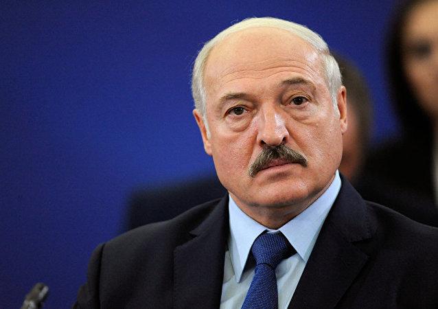 白俄罗斯总统卢卡申科