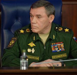 俄联邦总参谋长和土耳其武装部队总参谋长讨论叙利亚局势