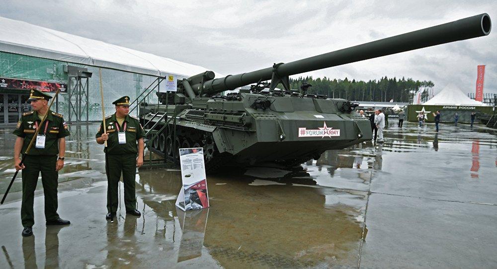 俄羅斯正對世界上最強大的一種自行榴彈炮進行現代化